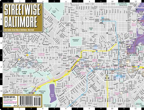 printable map of baltimore large baltimore maps for free and print high
