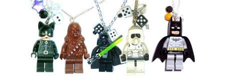 Necklace Lego Batman lego necklaces costume pop