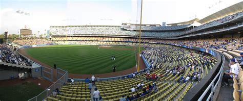 dodgers stadium sections dodger stadium panoramas cook sons baseball adventures