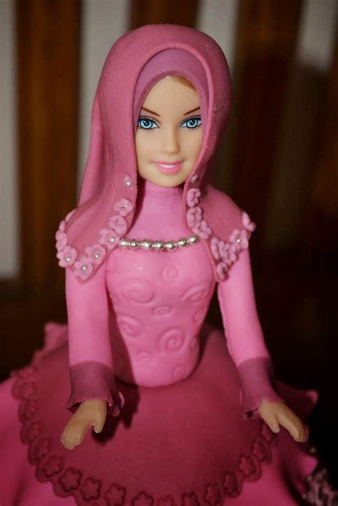 gambar boneka barbie animasi bergerak lucu cantik  imut