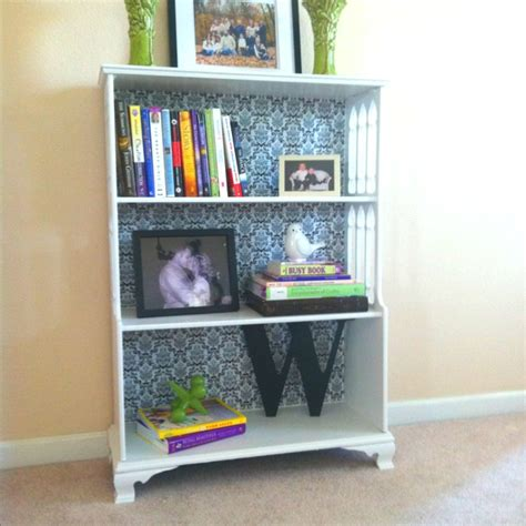 painted bookcase contact paper from tj maxx diy pins