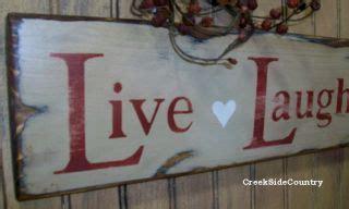 love home decor sign primitive hanging wood sign live laugh love home decor