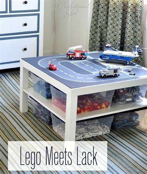 bilder kinderzimmer lego legotisch verschiedene sachen