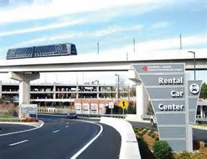 Car Rental In Atlanta Atlanta Hartsfield Airport Rental Car Center