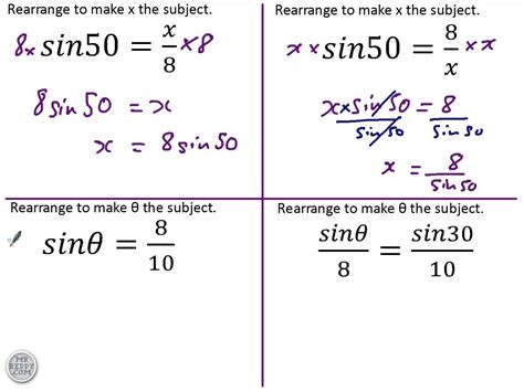 Rearranging Equations Worksheet Answers by Solving Trigonometric Equations Gcse Worksheet A Level