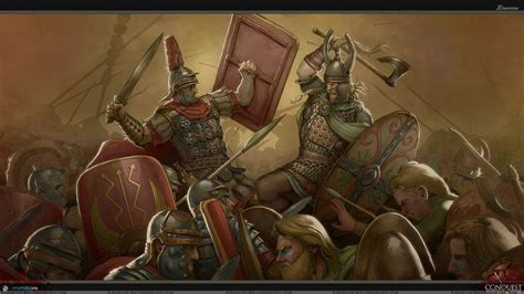 the conquest of the conquest battle it out wallpaper