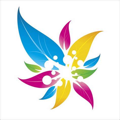 corel draw logo templates logo design floral colorido em corel draw ultra tutoriais