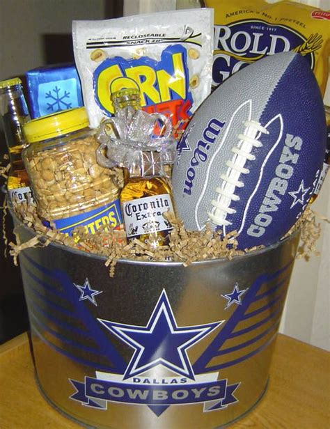 gifts for cowboys fans cowboys fan gift bucket audjiefied fun gift ideas