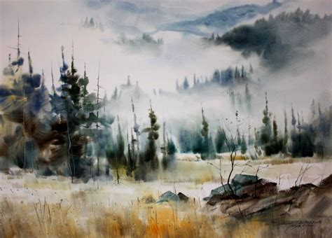 watercolor painting 735 best landscapes images on