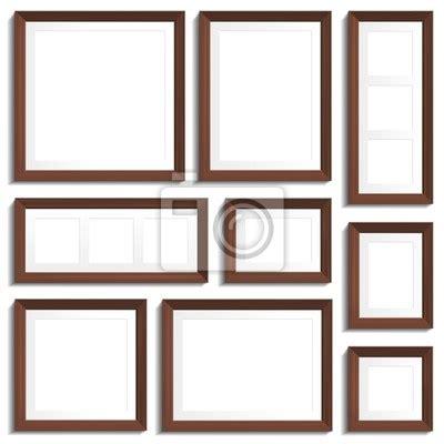 dimensioni standard cornici papier peint vector cadres vides de bois wenge dans