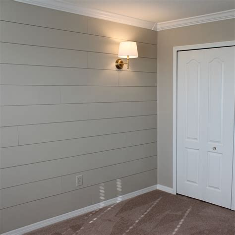 shiplap molding ideas diy shiplap nursery wall frills drills