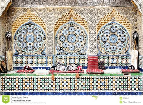 Moroccan Interior Design Elements moroccan mosaic 2 royalty free stock photography image
