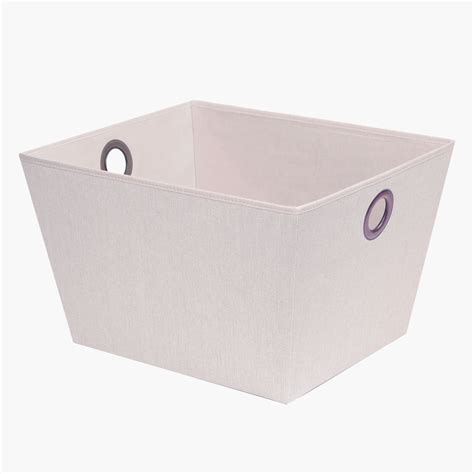 canvas storage bins large multi purpose storage bin arrow weave canvas with