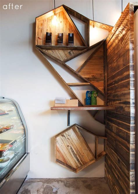 geometric shelves � simple yet eccentric and great for