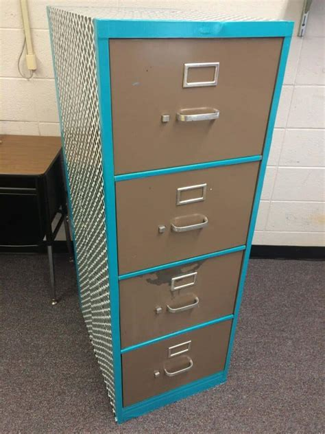 file cabinet for 12x12 paper ugly filing cabinet makeover rhoda design studio