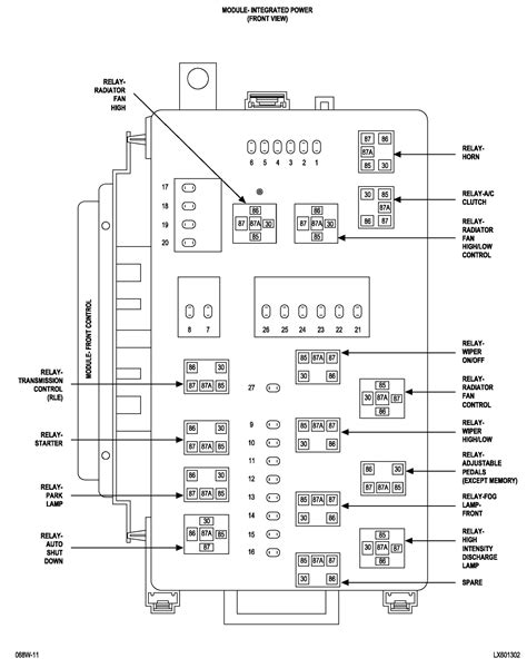 dodge charger fuel fuse location wiring diagram schematic