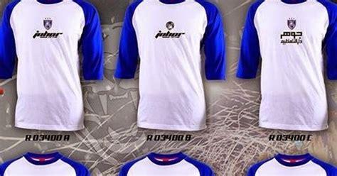 Baju Jersey Johor cop baju jersey jersi murah hanya rm 12 sahaja baju johor jdt jdt murah murah cetak cantik jdt cop