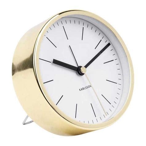 minimalist alarm clock karlsson minimal alarm clock copper plated silent