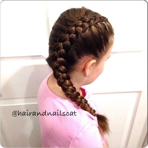 who braids christina johnson hair same side dutch braid hairandnailscat pinterest