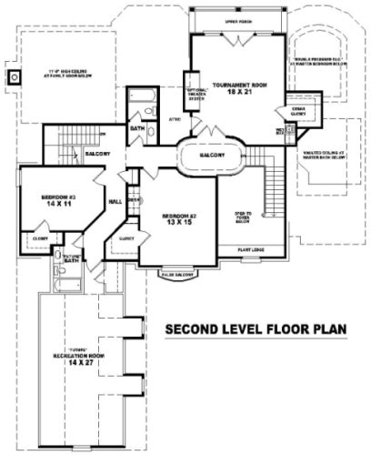 nhd home plans 8153 4 bedrooms and 3 5 baths the house designers