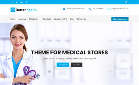 theme wordpress free health contemporary free medical wordpress themes picture