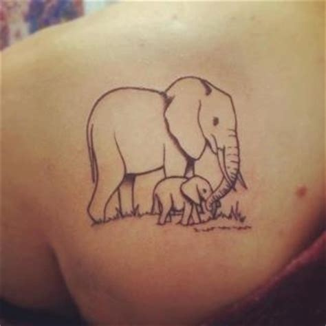 mom and baby elephant tattoos pinterest mom ideas 13 best images about 201 l 233 phant tattoo on pinterest small