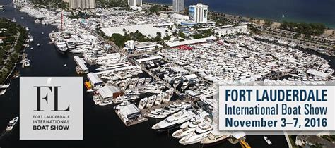 fort lauderdale boat show on the water mayor seiler welcomes the fort lauderdale international