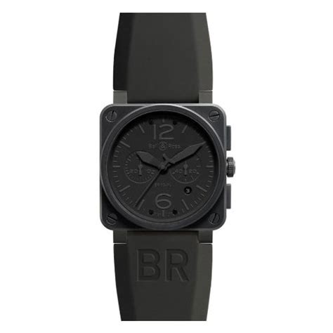 Bell Ross Phantom bell and ross aviation phantom all black chronograph mens br03 94 phantom brenda