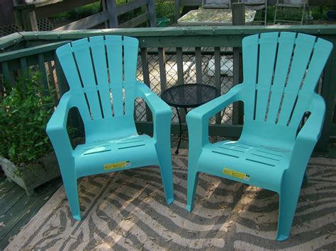 my mint green house outdoor furniture update