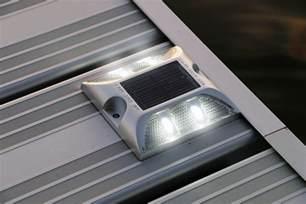 solar led decking lights solar deck lights view all lake lite solar marine