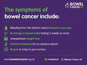 Blood In Stool Diagnosis bowel cancer symptoms 183 bowel cancer uk