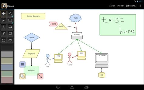 dia diagram editor review dianoid lite diagram editor android apps on play