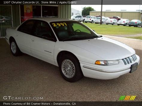 white 1997 chrysler concorde lx agate quartz