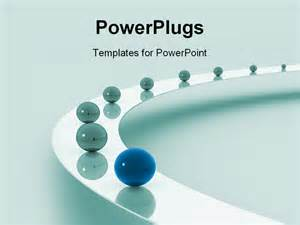 Leadership Powerpoint Templates by Powerpoint Template Leadership As A Metaphor With Marbles