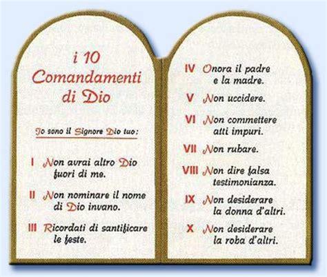 tavole dieci comandamenti e i cattolici