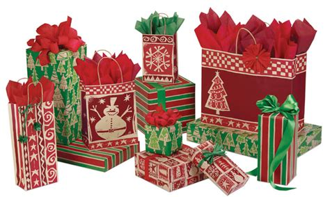 paper shopping bags christmas holiday the packaging