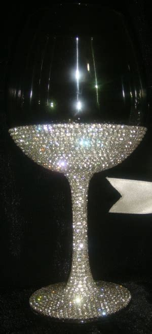 custom designed handmade pair of wine glasses with