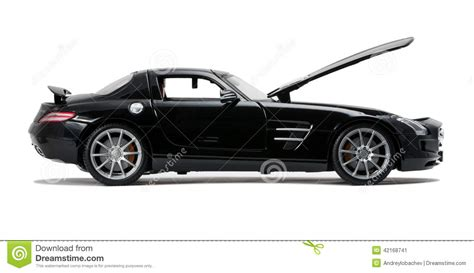 sports cars side view black sports car side view royalty free stock image