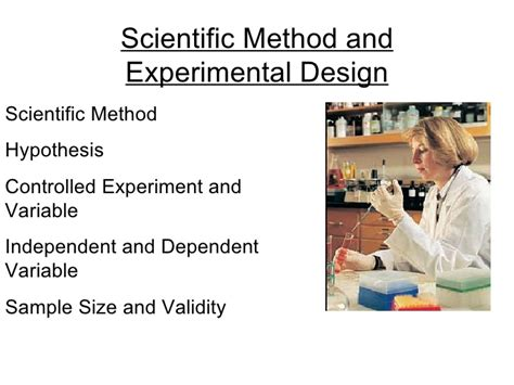 design an experiment using the scientific method exle scientific method and experimental design