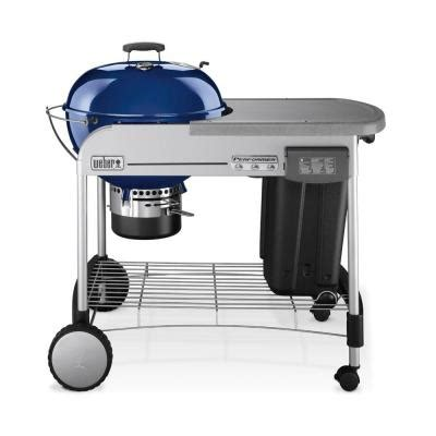 weber performer charcoal grill with touch n go gas
