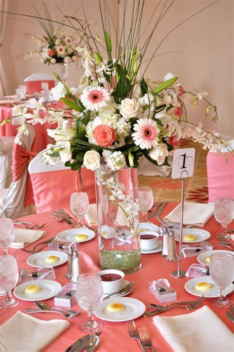 Best 25  Coral wedding centerpieces ideas on Pinterest