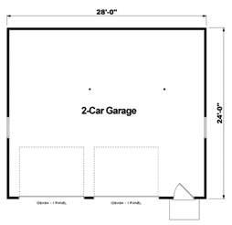 2 Story House Blueprints garage plan 6014 at familyhomeplans com