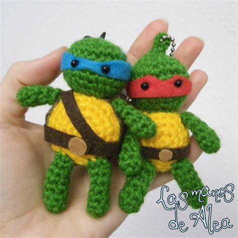 amigurumi tmnt pattern crochet ninja turtle crochet sewing quilting rugs