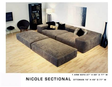 the pit couch smaller pit sectional ideas for the house pinterest