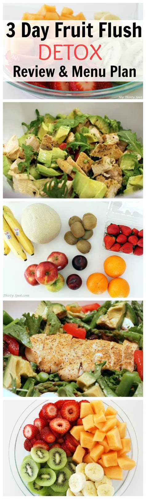 Detox Diet Day 1 Fruit by Fruit Flush Detox Detox