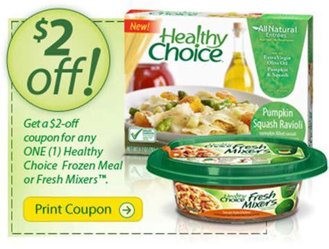 healthy food printable coupons hot printable coupons 2 healthy choice common sense