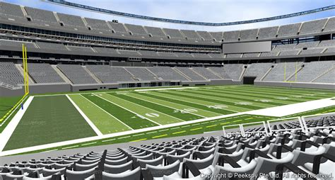 section 117 row 16 seats 2 new york jets for sale at