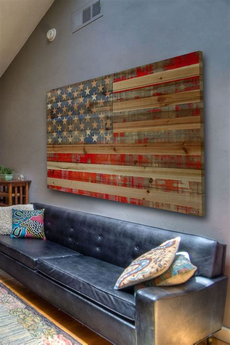 american flag home decor rustic american flag decor things