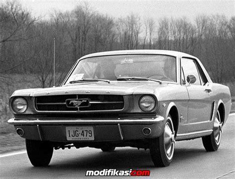 Spion Mobil Ford sejarah kemunculan kendaraan mobil klasik ford mustang 1965