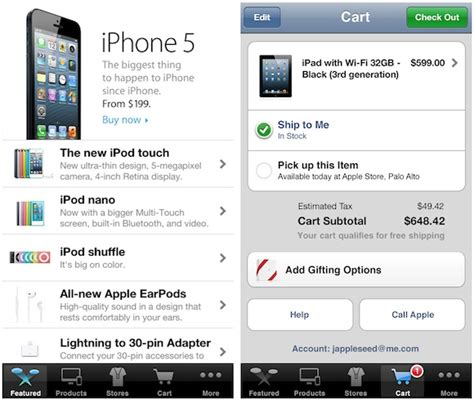 Chinese Apple Store Gift Card - apple updated store app for ios with support for passbook gift cards adds searching